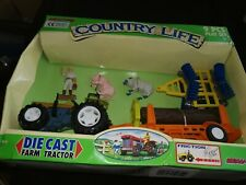 NEW RAY COUNTRY LIFE DIE CAST FARM TRACTOR