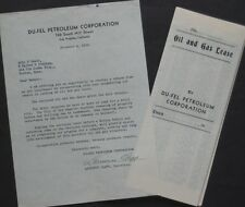 Original 1936 OIL & GAS LEASE Los Angeles California Petroleum Corp Drill Site