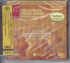 The London Violin Sound Geoffrey Simon Top Music Stereo Hybrid SACD Numbered CD