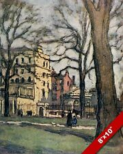 Park Lane Dudley House London 1896 Page over 120 years old available unframed