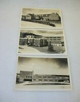 Lot of 3 Real Photo Postcards - Seattle Washington - Naval Air Station