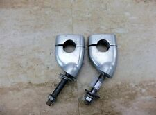 1986 Yamaha Virago XV535 Y633. handle bar mounts risers clamps