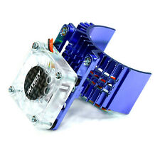 Integy Motor Heatsink w/ Cooling Fan Slash 2WD / Rustler / Stampede T8074BLUE