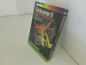NEW GRIDRUNNER II Mutant Camels With Creased box CARTRIDGE COMMODORE 64 128 K42