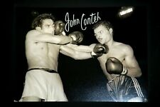 More details for john conteh hand signed boxing 12x16 photograph : c