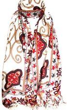 Châles/écharpe rouge à motif Floral pour femme
