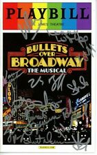 BULLETS OVER BROADWAY signed autographed CAST playbill ZACH BRAFF