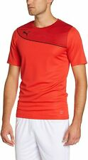 Puma jersey Mens Tee Shirt Momentta L colorful - red / black, sports, leisure
