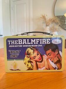 The Balm Balmfire Makeup Tin Makeup Box Collectors Edition RARE, Influencer Gift
