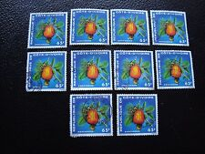 COTE D IVOIRE - timbre yvert/tellier n° 408 x10 obl (A27) stamp