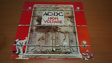 AC/DC High Voltage Australian Alberts Pressing LP Vinyl Record RED Label OOP EX