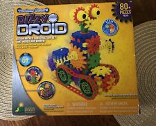 Techno Gears Dizzy Droid Construction Set Building STEM Toys 83 Piece Robot