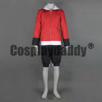Pokemon HeartGold and SoulSilver Ethan Hibiki Outfit Game Cosplay Costume F006