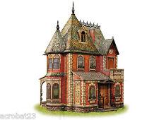 Victorian DOLL HOUSE #1 DIY Dollhouse Miniature Scale 1:12 Model Kit