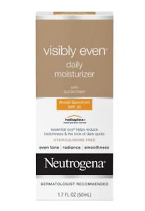 Neutrogena Visibly Even Daily Moisturizer SPF 30 1.7oz