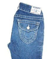 True Religion Women's Medium Wash Becky Boot Cut Denim Jeans 26 x 30