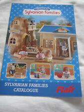 Sylvanian Families Estilo Vintage 2001 A5 Catálogo De Coleccionistas Raro