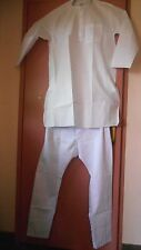 White Mens Bollywood Indian Kurta Pyjama set XL, L Outfit party ethnic suit