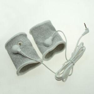 Electro Shock Conductive fibers Delay Lock Rings E-stim Therapy accessory