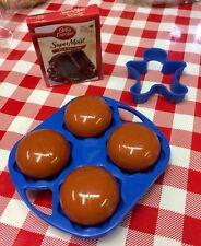 VTG Play Food CUPCAKES MIX MUFFIN PAN CAKE MIX Betty Crocker Baking Set CDI NEW