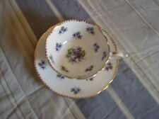 Royal Stafford Sweet Violets Tea Cup and Saucer