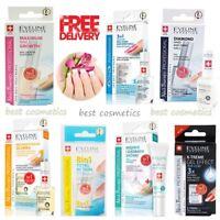 New Eveline Nail Therapy Strengthener Hardener Top Coat Dry Hard Shiny Nails
