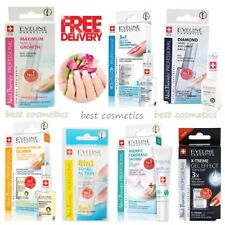 Eveline Nail Therapy Strengthener Hardener Top Coat Dry Hard Shiny Nails SALE !