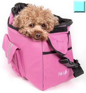 Back-Supportive Over-The-Shoulder Fashion Designer Travel Pet Dog Carrier