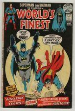 WORLDS FINEST # 211**SUPERMAN & BATMAN **1972***VERY FINE MINUS  7.5