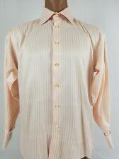 Men's PAUL SMITH London French Cuff Striped Dress Shirt Size 16 1/2 33/34