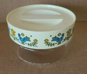 FREE Lid Dot Boarder LOVE BIRDS Etched 7x11 Pyrex