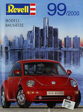 Katalog Revell Modell-Bausätze Kits 1999 2000 Flugzeuge Autos Rennwagen Helicopt