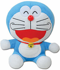 "Doraemon Doraemon Smile Face Plush 12"" Official Licensed Ge52028"