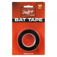 "BASEBALL BAT TAPE ~ Rawlings Black 3/4"" Wide 30"" Roll ~ Brand New in Package!"