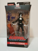 "Domino 6"" Marvel Legends Sasquatch Series Deadpool MOSC New 2018 Hasbro"
