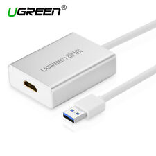 UGREEN USB 3.0 to HDMI DVI External Video Card Graphic Adapter for PC HDTV 1080P