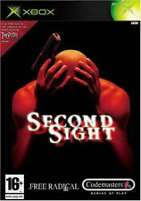 Second Sight Jeu Xbox Originale Occasion PAL FR avec notice