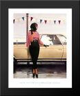 Suddenly One Summer 20x24 Black Wood Framed Art Print by Jack Vettriano