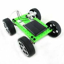 Mini Solar Powered Toy DIY Car Kit Children Educational Gadget Hobby Funny MU#~