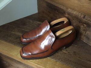 Vtg Quality 'Crockett & Jones' Men's Leather Shoes.