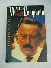 Selected Writings Vol 2 1927 - 1934 Walter Benjamin Belknap Press 2001 Hardback