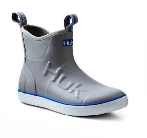 HUK Rogue Wave Men's Ankle Deck Boot-Fishing Boating Pick Color/Size - Free Ship