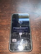 Apple iPhone 1st Gen - 8GB - Black (AT&T) A1203 (GSM)