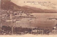Monte Carlo   , Ansichtskarte, gelaufen