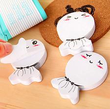 1030pads Cute Cartoon Sticker Post It Bookmark Notebook Memo Pad Sticky Notes