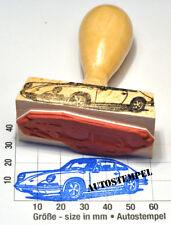 Porsche 911er Coupé (1963-73) als schöner Stempel mit Holzgriff