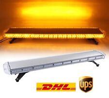 "88 LED 47"" 88W Rooftop Emergency Warning Beacon Tow Truck Plow Strobe Light Bar"