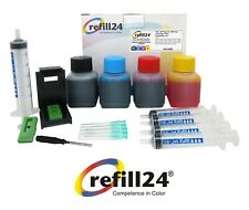 Kit de Recarga Cartuchos de Tinta Canon 510, 512, 511,513 Negro y Color + 200 ML
