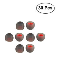 30 pcs Universal In Ear Earphone Cover Medium Replacement Silicone Earbud Tips