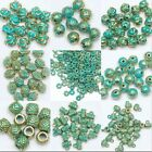 Wholesale 1000Pcs RetroTibet Green Beads Spacer Beads Cap For Jewelry making DIY